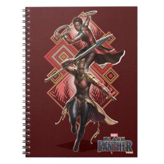 Black Panther | Nakia & Okoye Wakandan Graphic Notebook