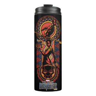 Black Panther | Okoye & Nakia Wakandan Panel Thermal Tumbler