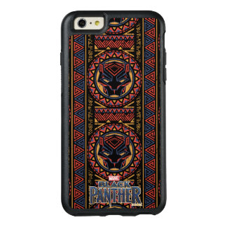 Black Panther | Panther Head Tribal Pattern OtterBox iPhone 6/6s Plus Case