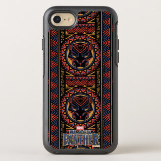 Black Panther | Panther Head Tribal Pattern OtterBox Symmetry iPhone 8/7 Case