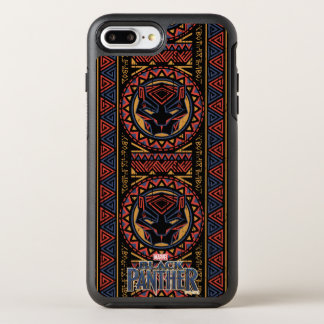 Black Panther | Panther Head Tribal Pattern OtterBox Symmetry iPhone 8 Plus/7 Plus Case