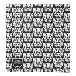Black Panther | Panther Head Typography Graphic Bandana