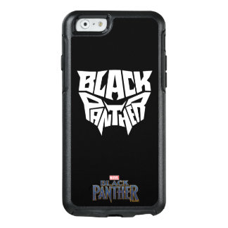 Black Panther | Panther Head Typography Graphic OtterBox iPhone 6/6s Case