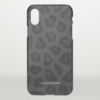 Black Panther Personalized iPhone X Case