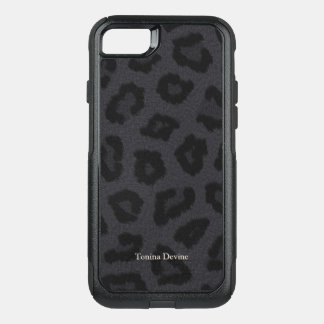 Black Panther Personalized OtterBox Commuter iPhone 8/7 Case