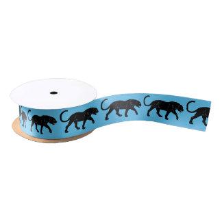 black panther satin ribbon