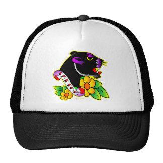 Black Panther Tattoo Trucker Hat