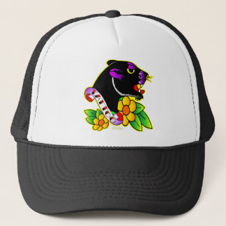 Black Panther Tattoo Trucker Hat