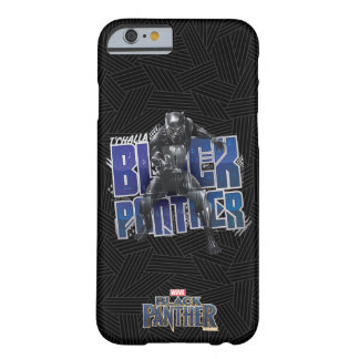 Black Panther | T'Challa - Black Panther Graphic Barely There iPhone 6 Case