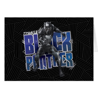 Black Panther | T'Challa - Black Panther Graphic Card