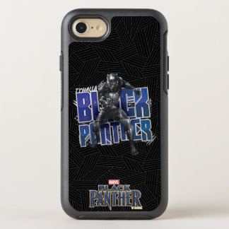 Black Panther | T'Challa - Black Panther Graphic OtterBox Symmetry iPhone 8/7 Case