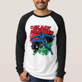 Black Panther Vintage Patriotic Graphic T-Shirt