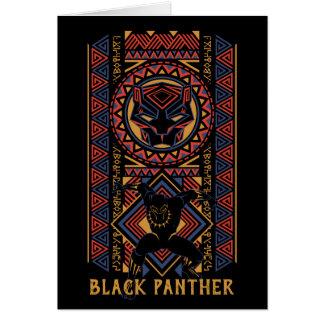 Black Panther   Wakandan Black Panther Panel Card