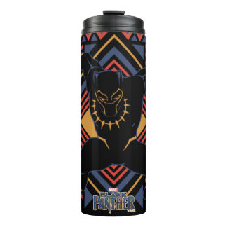 Black Panther | Wakandan Black Panther Panel Thermal Tumbler