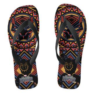 Black Panther | Wakandan Black Panther Panel Thongs