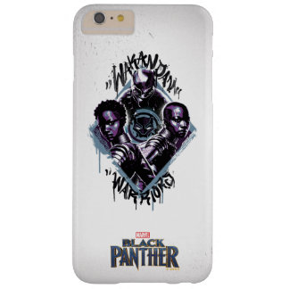 Black Panther | Wakandan Warriors Graffiti Barely There iPhone 6 Plus Case