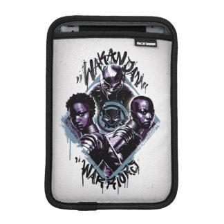 Black Panther | Wakandan Warriors Graffiti iPad Mini Sleeve