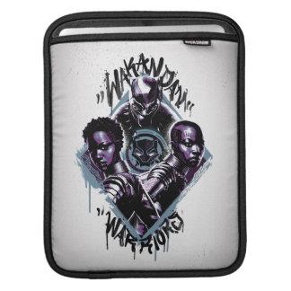 Black Panther | Wakandan Warriors Graffiti iPad Sleeve