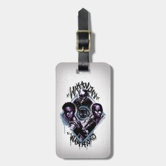 Black Panther | Wakandan Warriors Graffiti Luggage Tag