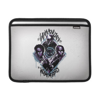 Black Panther   Wakandan Warriors Graffiti MacBook Sleeve