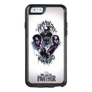 Black Panther | Wakandan Warriors Graffiti OtterBox iPhone 6/6s Case