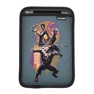 Black Panther | Wakandan Warriors Painted Graphic iPad Mini Sleeve