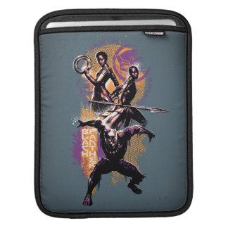 Black Panther | Wakandan Warriors Painted Graphic iPad Sleeve