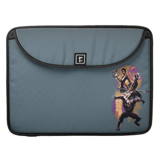 Black Panther   Wakandan Warriors Painted Graphic Sleeve For MacBook Pro