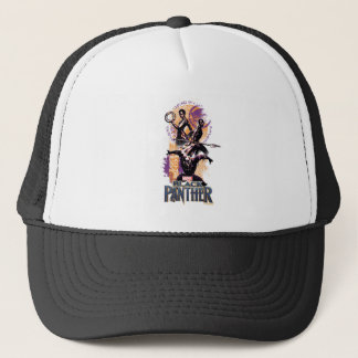 Black Panther | Wakandan Warriors Painted Graphic Trucker Hat