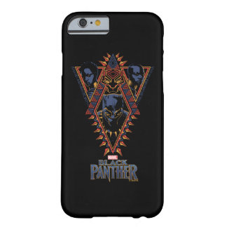 Black Panther | Wakandan Warriors Tribal Panel Barely There iPhone 6 Case