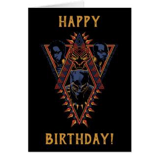Black Panther   Wakandan Warriors Tribal Panel Card