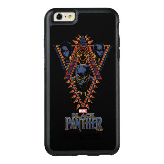 Black Panther | Wakandan Warriors Tribal Panel OtterBox iPhone 6/6s Plus Case