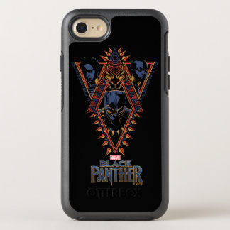 Black Panther | Wakandan Warriors Tribal Panel OtterBox Symmetry iPhone 8/7 Case