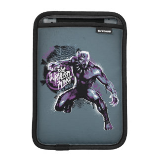 Black Panther | Warrior King Painted Graphic iPad Mini Sleeve