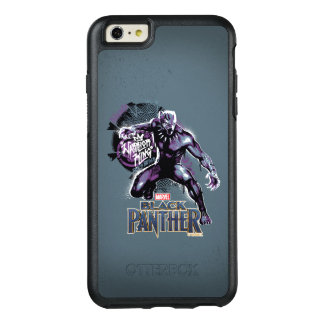 Black Panther | Warrior King Painted Graphic OtterBox iPhone 6/6s Plus Case