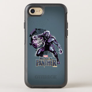 Black Panther | Warrior King Painted Graphic OtterBox Symmetry iPhone 8/7 Case