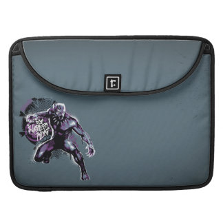 Black Panther | Warrior King Painted Graphic Sleeve For MacBook Pro