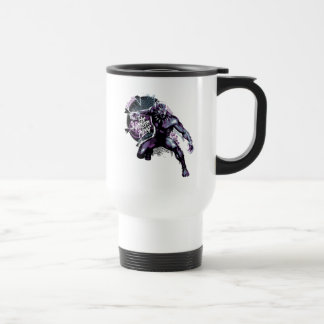 Black Panther | Warrior King Painted Graphic Travel Mug
