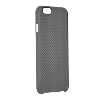 Black para-aramid synthetic Texture Clear iPhone 6/6S Case