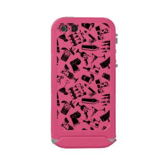 Black Pattern Cocktail Bar Incipio ATLAS ID™ iPhone 5 Case