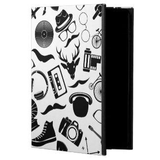Black Pattern Hipster Powis iPad Air 2 Case