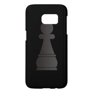 Black pawn chess piece