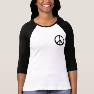 Black Peace Symbol Tshirt