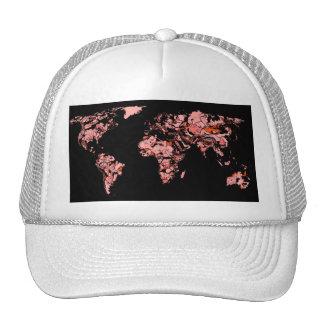 Black peach atlas cap