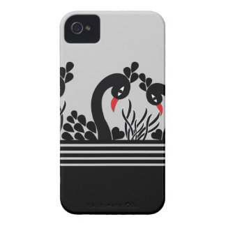 black peacock Case-Mate iPhone 4 case