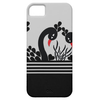 black peacock iPhone 5 cover