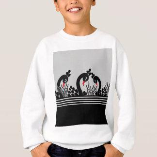 black peacock sweatshirt