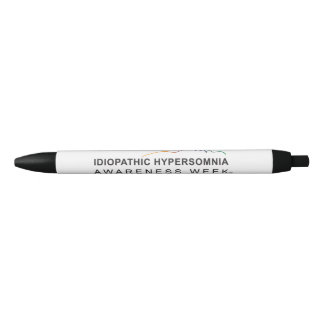 Black Pen Idiopathic Hypersomnia Awareness Week®