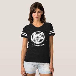 Black Pentagram Football Jersey Tshirt