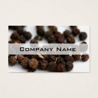 Black Pepper Business Card
